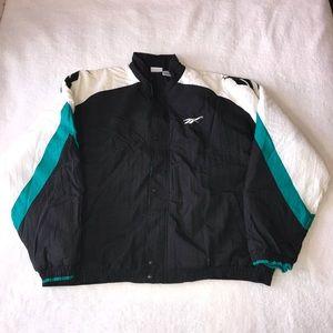 Vintage Reebok Puffer Jacket 2XLT Full ZIP Taiwan